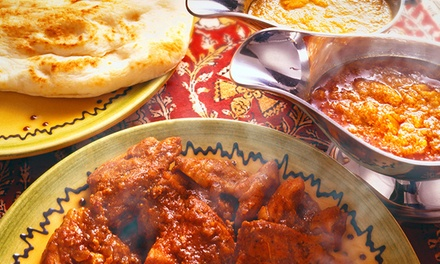 SevenCourse Indian Dinner for Two $39, Four $76 or Six $115 at SevenCourse Indian Dinner Up to $306.90 Value