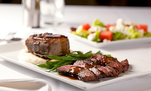 Savoy Restaurant: Upscale American Dinner or Cocktails and Appetizer for Two at Savoy Restaurant (Up to 42% Off)