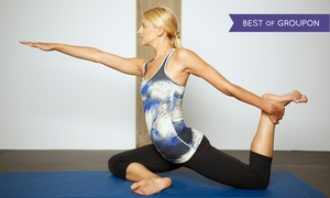 PurePower Hot Yoga: 10 or 15 Yoga Classes at  PurePower Hot Yoga (Up to 74% Off)