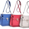 Ruby Blue Couture Gloria Crossbody Bag