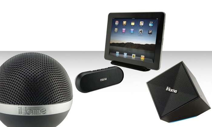iHome Portable Bluetooth Speaker Event: iHome Portable Bluetooth Speakers. Multiple Styles Available from $34.99–$44.99.