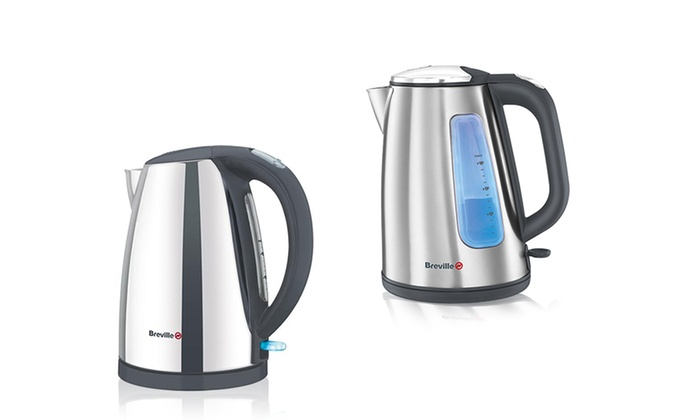 breville brushed stainless steel jug kettle