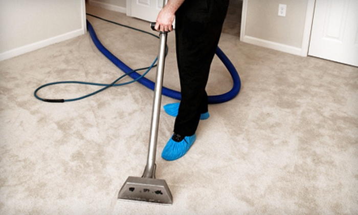 Heaven's Best Carpet and Upholstery Cleaning - Orange County: Three or Five Rooms of Carpet Cleaning from Heaven's Best Carpet and Upholstery Cleaning (Up to 68% Off)
