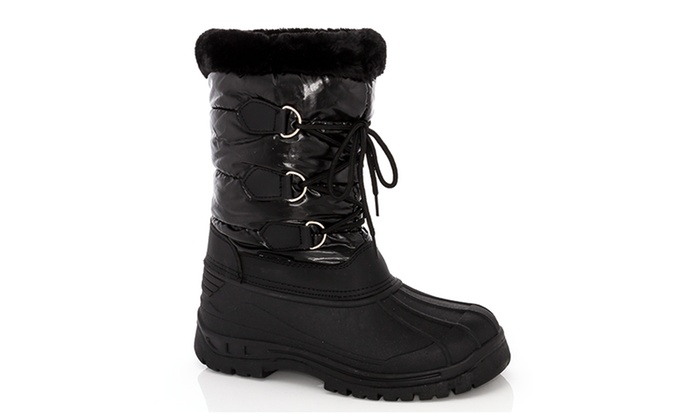 Clearance: Snow Tec Frost-7 Women's Snow Boots (Size 9) | Groupon