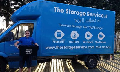 image for Three Months of Storage at The Storage Service (Up to 64% Off)