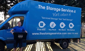 The Storage Service: Three Months of Storage at The Storage Service (Up to 64% Off)