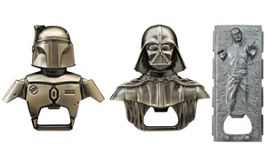 Star Wars Party Pack Bottle Openers And Molds