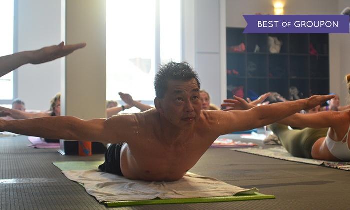 Bikram Hot Yoga Long Beach - Bikram Yoga Studio - Long Beach: 10 Bikram Yoga Classes or One Month of Unlimited Classes at Bikram Hot Yoga Long Beach (Up to 74% Off)