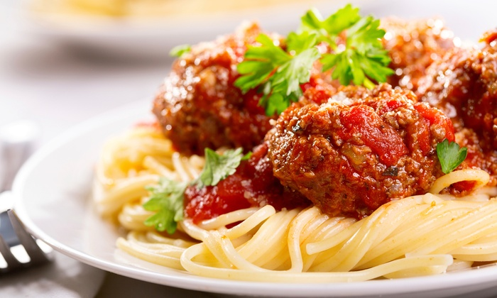 Ami's Italian Restaurant - Multiple Locations: Italian Cuisine at A'mis Italian Restaurant (40% Off). Four Options Available.