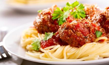 Italian Cuisine at A'mis Italian Restaurant (40% Off). Four Options Available.