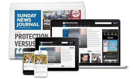26- or 52-Week Sunday Edition Subscription or 52-Week Digital Subscription of The News Journal (Up to 84% Off)