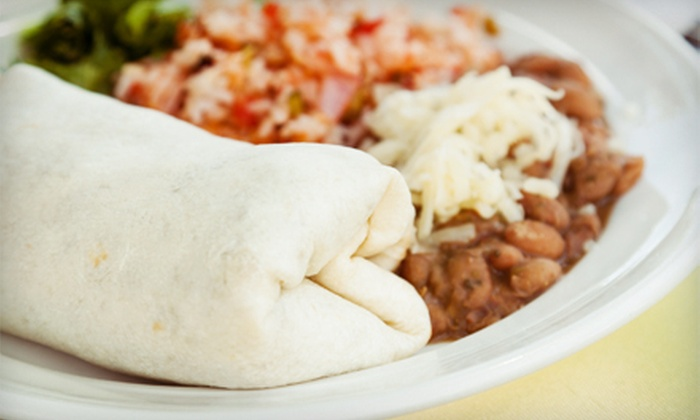 Tropical Mexican Cuisine - Appleton: Dinner or Lunch at Tropical Mexican Cuisine in Appleton (Up to 53% Off)
