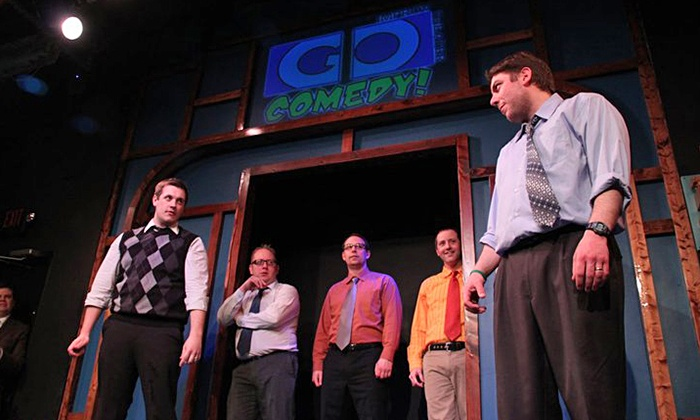 Go Comedy! Improv Theater - Downtown Ferndale: Go Comedy! Sketch Comedy Show for Two on Thursdays or Fridays at 8 p.m. Through July 25 (Up to 56% Off)