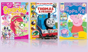 1-Year Subscription to Kids' Activity Magazines