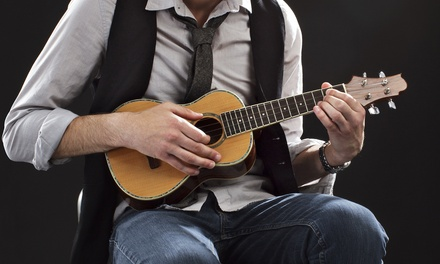 $15 for One Year of Online Ukulele Lessons from Rockstar Academy ($79 Value)