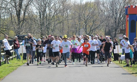 Up to 50% Off Entry to 5K Fun Run at Make Every April Better Foundation