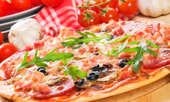 Rizzo's Fine Pizza - New York: $20 for $40 Worth of Specialty Pizzas, Salads, and Calzones at Rizzo's Fine Pizza