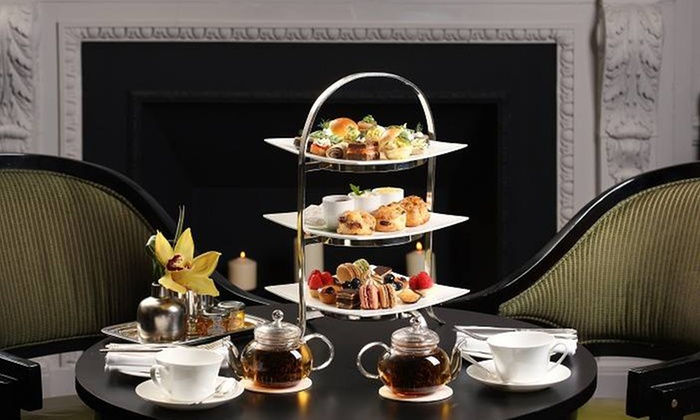 Two E Bar/Lounge at The Pierre - Two E Bar/Lounge at The Pierre, A Taj Hotel: Afternoon Sweet or Traditional Tea Service for Two at Two E Bar/Lounge at Five-Star Rated The Pierre (Up to 46% Off)
