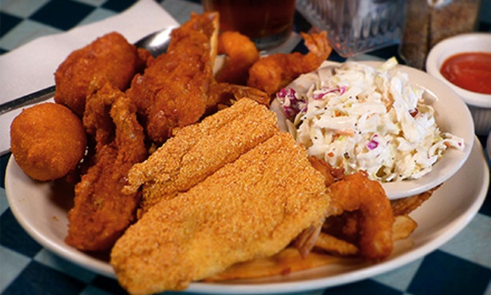 Shrimp Galley - Lubbock: $9 for $16 Worth of Seafood at Shrimp Galley