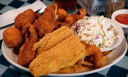 $9 for $16 Worth of Seafood at Shrimp Galley