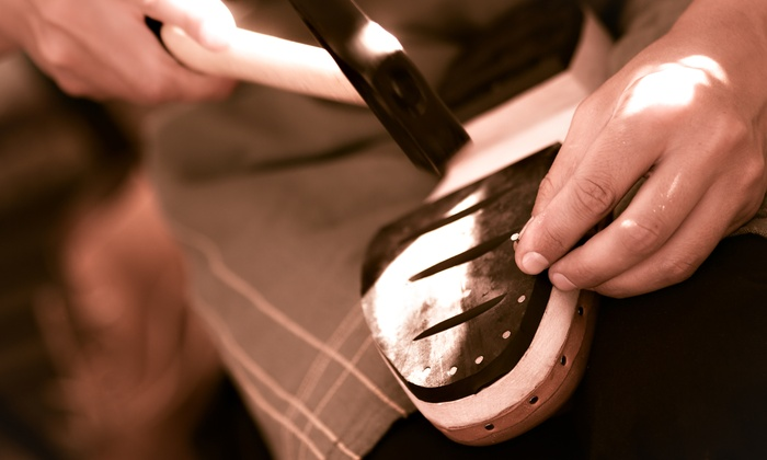 $11 for $20 or  for  Worth of Shoe Repair. 12 Locations.