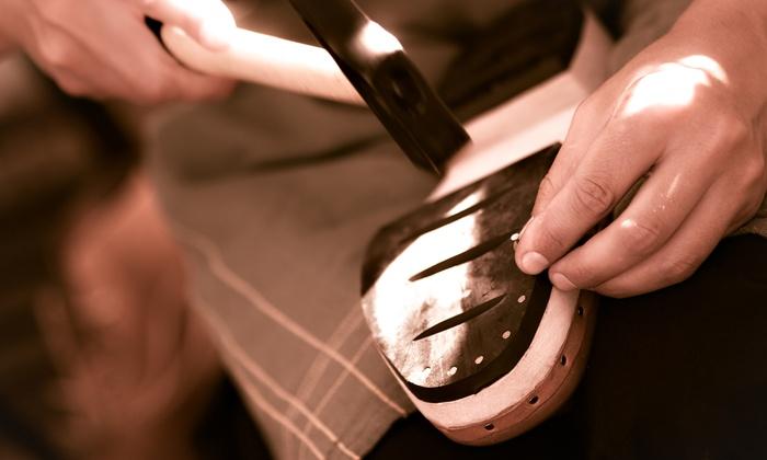 Cobbler's Bench Shoe Repair - Multiple Locations: $11 for $20 or  for  Worth of Shoe Repair. 12 Locations.