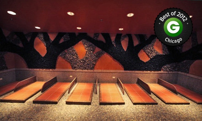 King Spa & Sauna - Niles: $15 for a Day-Spa Pass with Admission to the Base Rock Room at King Spa & Sauna (Up to $30 Value)