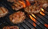 Illinois Seafood - Countryside: $79 for Gourmet Home-Grilling Package with Wagyu-Style Meat and Truffle Oil from Illinois Seafood ($273.93 Total Value). Pick-up or Delivery Available.