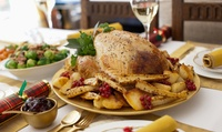 Three-Course Festive Meal for Two or Four at Whilton Locks Garden Village - Canalside Restaurant (Up to 35% Off)