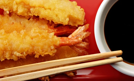 Sushi and Japanese Food at Ichiban Hibachi Steakhouse & Sushi Bar (50% Off). Two Options Available.