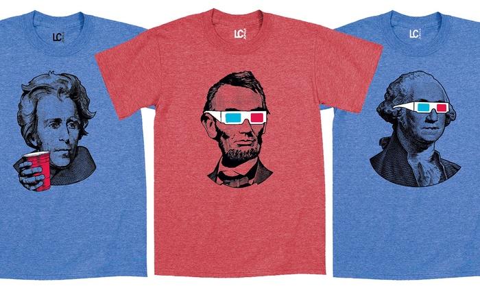 Men's Presidents Day T-Shirts: Men's Presidents Day T-Shirts