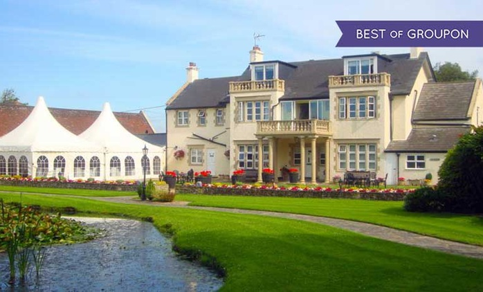 Somerset: 1 or 2 Nights for Two with Breakfast, Dinner, Prosecco and Spa Access at 4* Rookery Manor