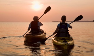 Belle Harbour Marina: One or Two Half-Day Kayak Rentals at Belle Harbour Marina (Up to 61% Off)
