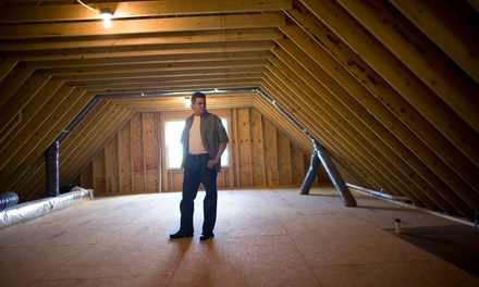 $99 for Attic Inspection and Insulation Installation from CSC Exteriors ($500 Value)