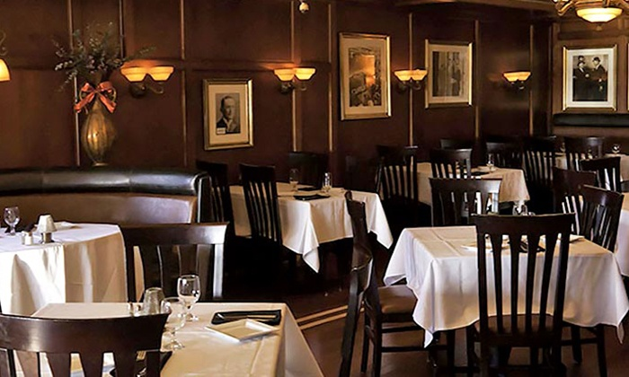 Amrheins - South Boston: $25 for $50 Worth of Steaks, Seafood, and American Cuisine for Dinner at Amrheins
