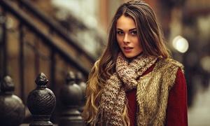 Angélica Silva Menezes: Angélica Silva Menezes – Centro: mechas, tonalização e argan (opção de Photon Hair, fluido reconstrutor e queratina)