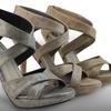 Taurus Metallic Women's Platform Sandal