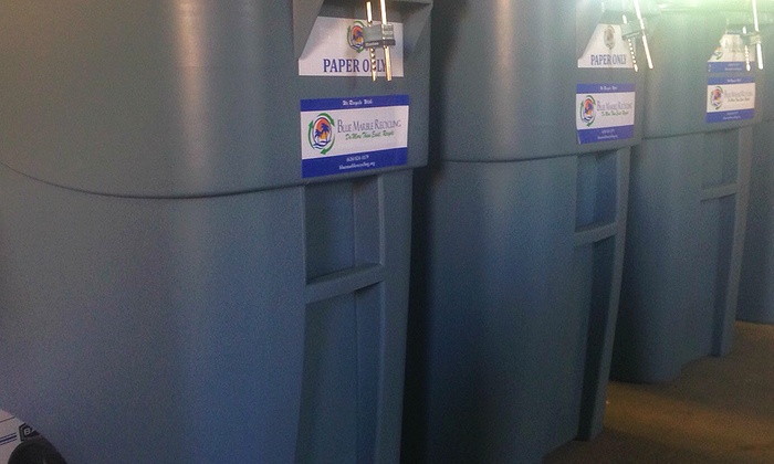 Blue Marble Recycling - Los Angeles: $7 for $15 Worth of Shredders — Blue Marble Recycling