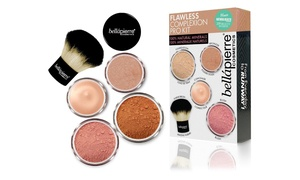 Bellápierre Cosmetics Flawless Complexion Mineral Makeup Kit Pro With Foundation, Concealer, Bronzer, And Blush