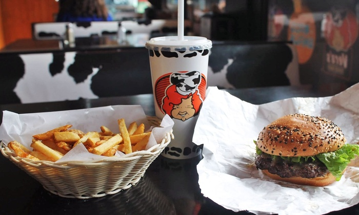 Vera's Burger Shack - Multiple Locations: C$14 for C$20 Worth of Fresh-Cut Fries and Gourmet Burgers at Vera's Burger Shack