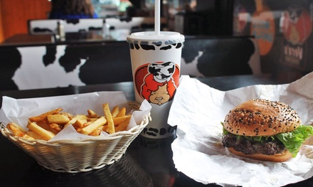 C$14 for C$20 Worth of Fresh-Cut Fries and Gourmet Burgers at Vera's Burger Shack