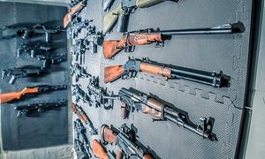 PM SHOOTER S.C.: 1-godzinne wejście na strzelnicę (największy wybór broni palnej w Warszawie) wraz z instruktorem od 39,99zł w PM Shooter