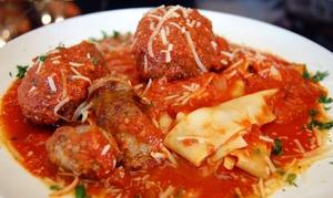 Luce Ristorante e Enoteca: Italian Lunch for Two or More at Luce Ristorante e Enoteca (Up to 42% Off)