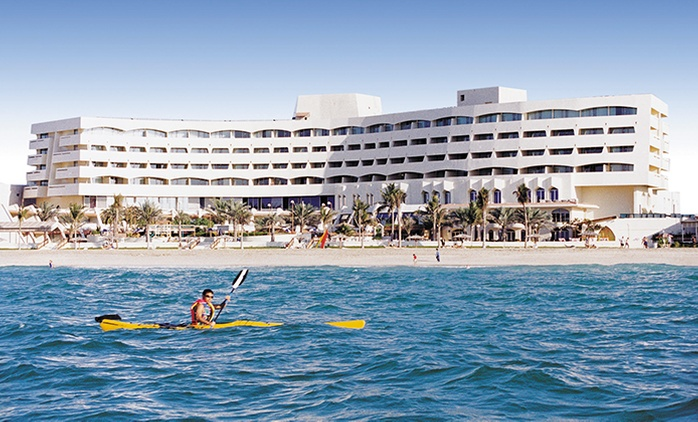 Sharjah: 1 Night with Breakfast for Two Adults and Two Children at the 4* Sharjah Grand Hotel
