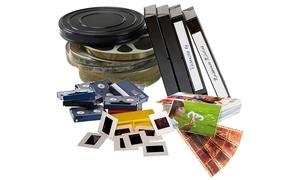 Tedeo: Pack au choix pour numérisation et transfert de de souvenirs sur DVD dès 14,90 avec Tedeo (jusqu'à 60% de remise)