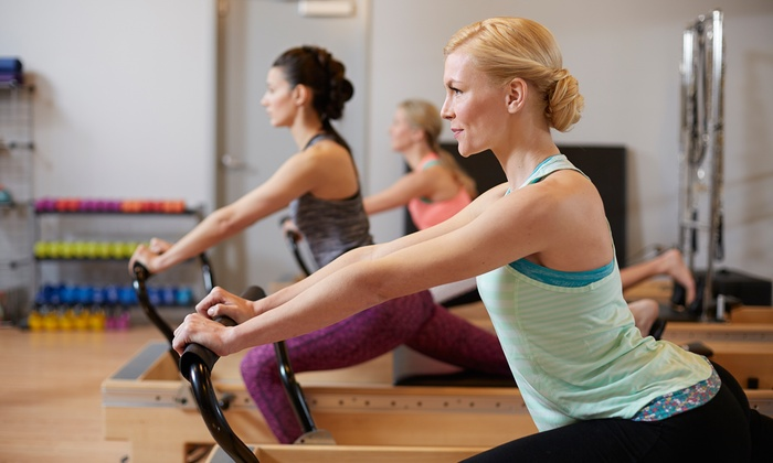 Pilates With Brookelyn - Harris Hill: 6-Pack of Classes, 12-Pack of Classes, or Two Private Sessions at Pilates With Brookelyn (Up to 41% Off)