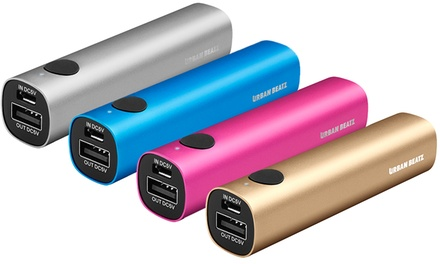 Urban Beatz Voltage 2,200mAh Portable Power Bank
