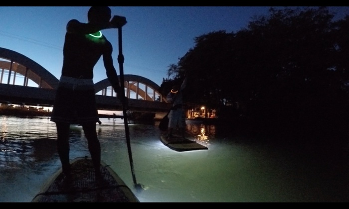 Nocturnal Adventures Hawaii - Liliha - Kapalama: Up to 51% Off Nighttime Paddle Board Tour at Nocturnal Adventures Hawaii