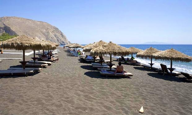 Greece: Santorini Beachside Hotel 4