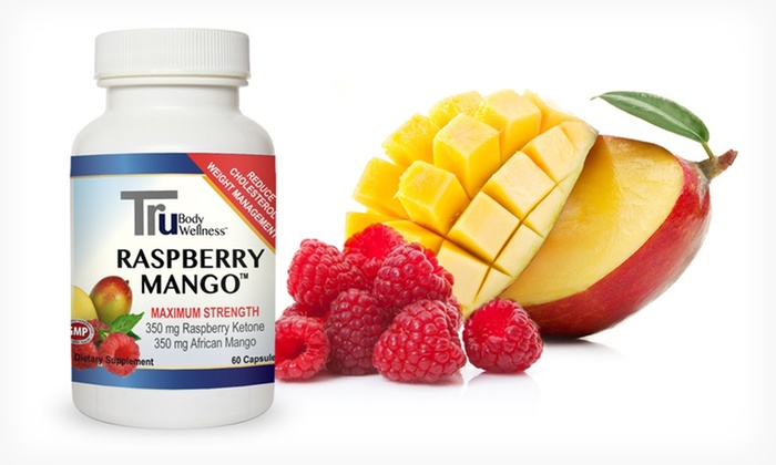 Healthy Body Tru Raspberry Mango Supplement: One, Two, or Three 30-Day Supplies of Healthy Body Tru Raspberry Mango Weight-Management Supplement (Up to 76% Off)